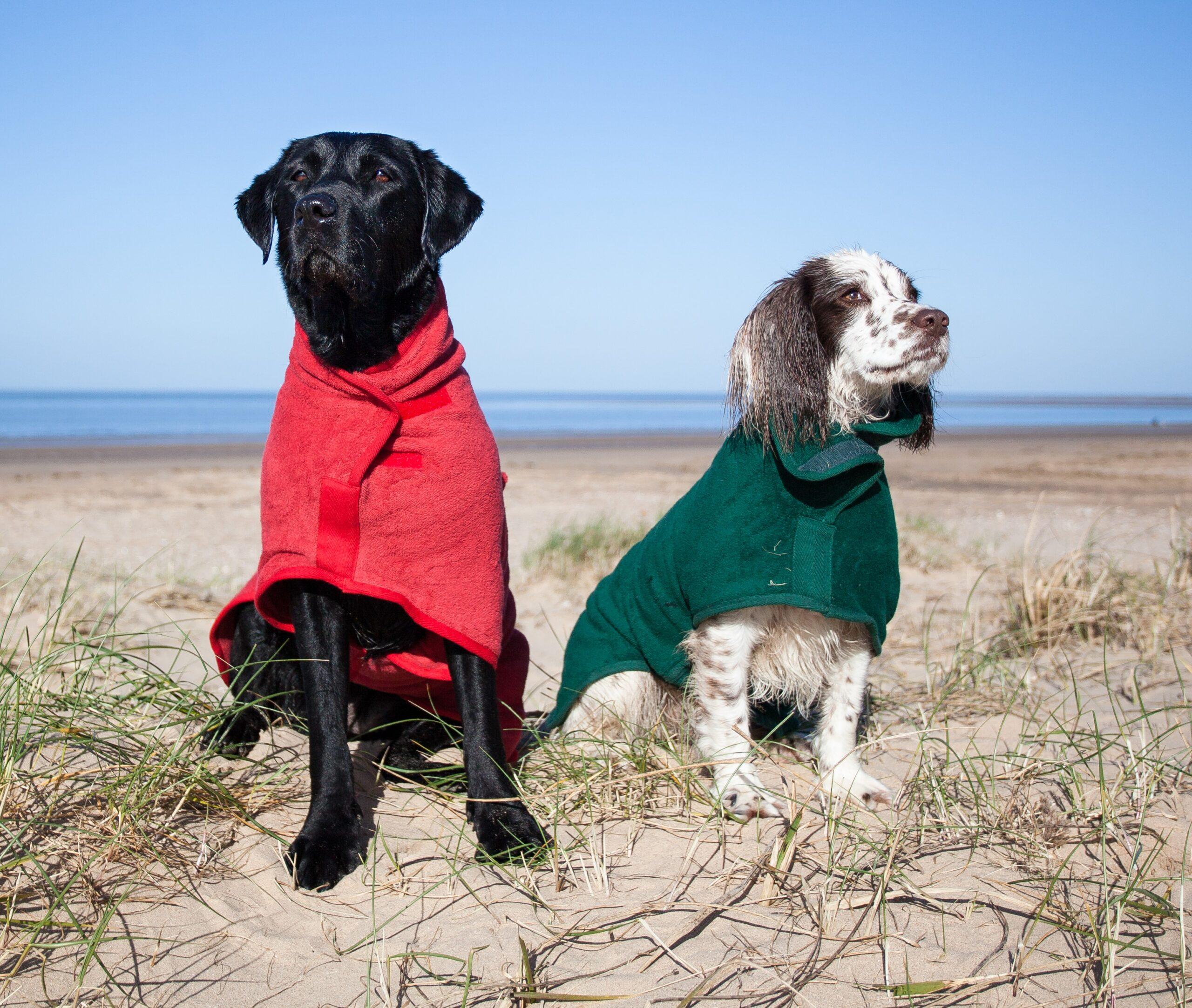 Ruff and Tumble Classic Dog Drying Coats