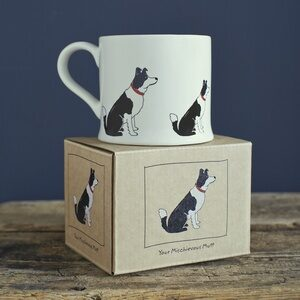 Border Collie Mug by Sweet William.