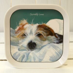 Scruffy Love Trinket Tray by The Little Dog Laughed.