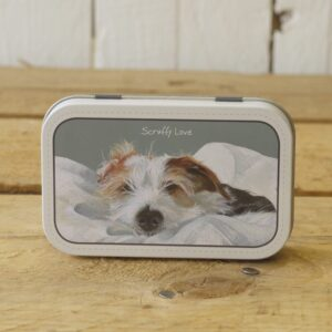 Scruffy Love Mint Tin by The Little Dog Laughed