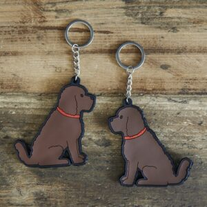 Cockapoo Keyring by Sweet William.