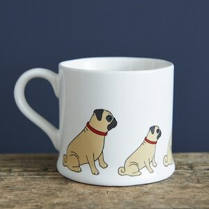 Pug Mug by Sweet William.