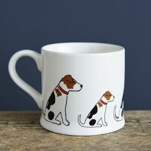 Jack Russell Terrier Mug by Sweet William.