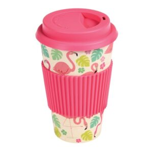 Tropical Flamingo Travel Mug by Rex