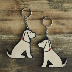 Golden Cocker Spaniel Keyring by Sweet William.