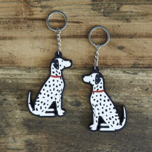 Dalmatian Keyring by Sweet William.