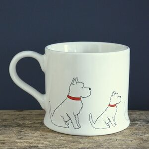 Westie Mug by Sweet William.