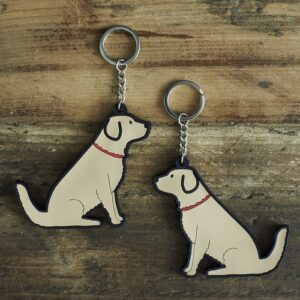 Golden Retriever Key Ring by Sweet William.