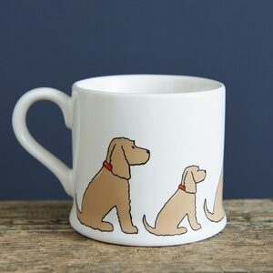 Cocker Spaniel Mug by Sweet William.