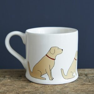 Golden Retriever Mug by Sweet William.