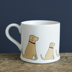 Yellow Labrador Mug by Sweet William.