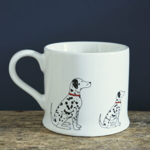 Dalmatian Mug by Sweet William.