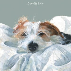 Scruffy Love Greetings Card