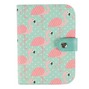 Tropical Flamingo Design Passport Holder by Sass and Belle.