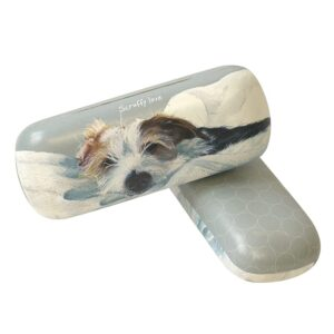 Scruffy Love Glasses Case by The Little Dog Laughed
