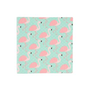 Tropical Flamingo Paper Napkins by Sass and Belle.