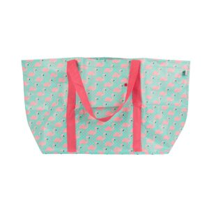 Tropical Flamingo Large Shopper Bag