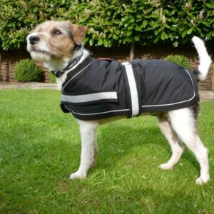 Waterproof Soft Fleece-Lined Dog Coat by Petface