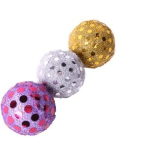 Glitter Balls Cat Toy by PetFace