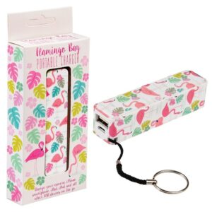 Flamingo Portable Charger by Rex