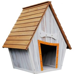 Bark-Shire Dog House / Kennel By Waggy Tails