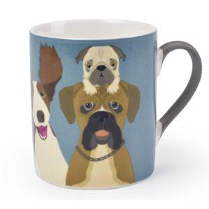'The Rabble' Dog Mug by Burgon & Ball