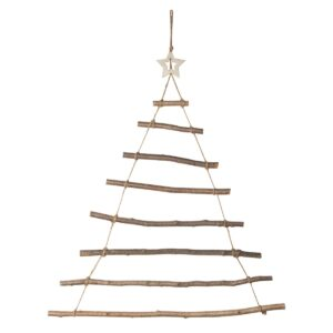 Christmas Tree Wall Ladder by Sass and Belle