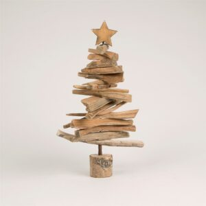 Mini Wooden Christmas Tree by Sass and Belle