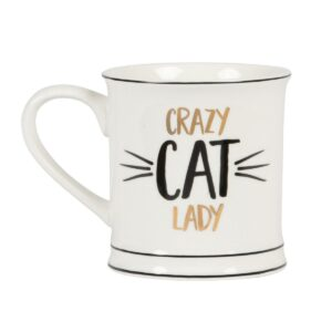Crazy Cat Lady Mug by Sass and Belle
