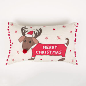 Dachshund Cushion by Sass and Belle
