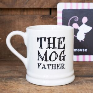 The Mog Father Mug by Sweet William