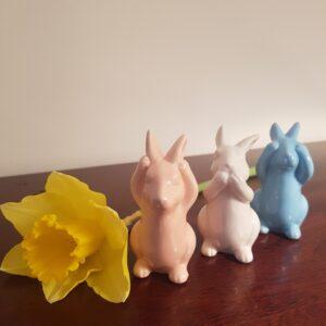 Easter Peekaboo Bunnies