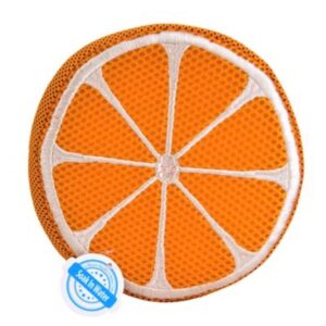 All For Paws Orange Flyer Dog Toy