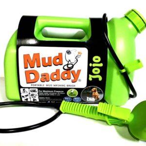 5L Mud Daddy – Portable Dog Washer – Green (older design)