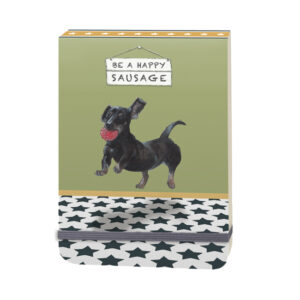 Dachshund Notebook by The Little Dog Laughed