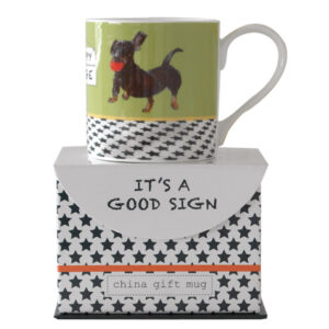 Dachshund Mug by The Little Dog Laughed