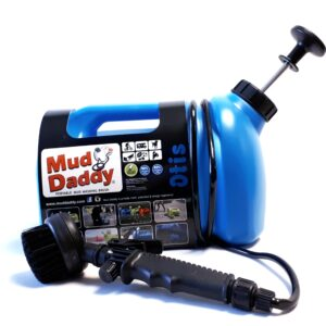 8L Mud Daddy – Portable Dog Washer – Blue