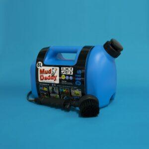 8L Mud Daddy – Portable Dog Washer – Blue