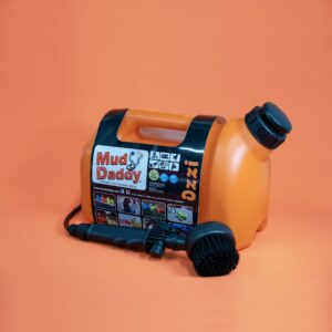 5L Mud Daddy – Portable Dog Washer – Orange