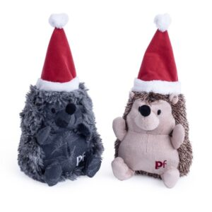 Christmas Hedgehog Dog Toy by PetFace