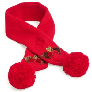 Red Christmas Scarf for Dogs