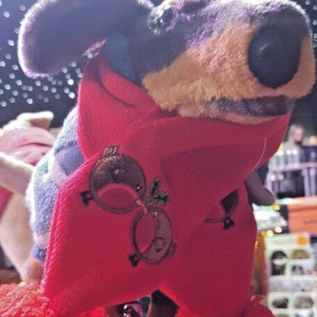 red xmas dog scarf 4 - Copy
