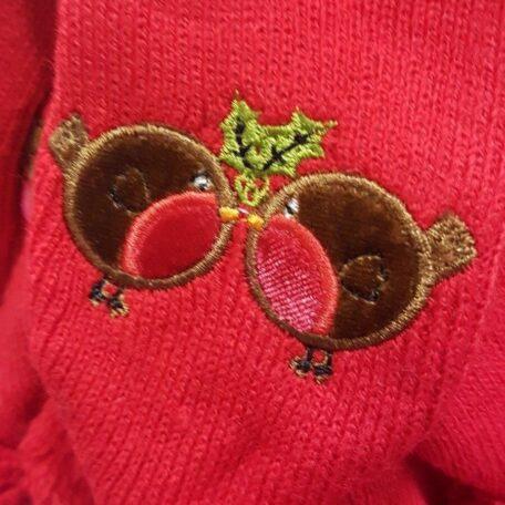 red xmas dog scarf 5 - Copy