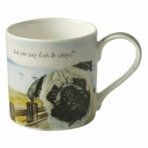 Pug Mug by The Little Dog Laughed