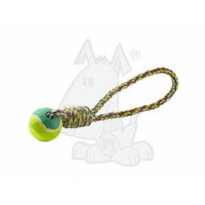 Strong Long Rope Chukka' Ball by PJ Pets