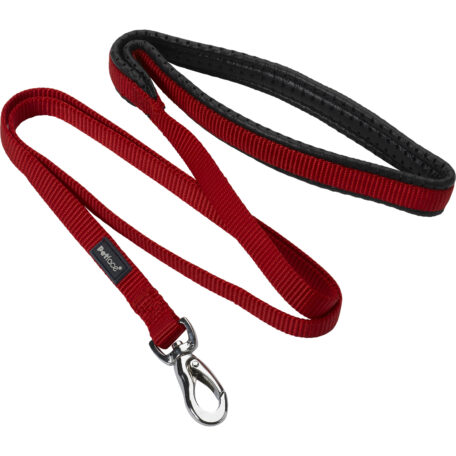petface-padded-nylon-dog-puppy-lead-red