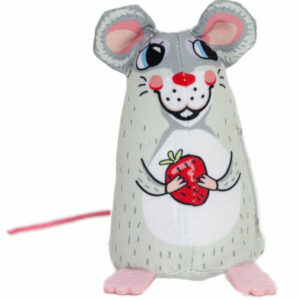 Fuzzu Sweet Baby Mice, Sweetie Mouse Cat Toy with Organic Catnip