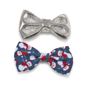 Christmas Dog Bow Ties – 2 Pack by PetFace
