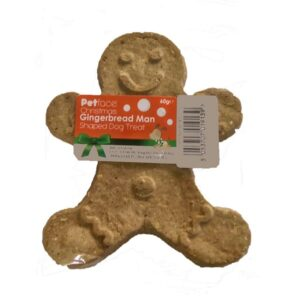 Gingerbread Man Dog Treat by Petface