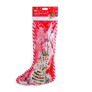 Large Christmas Stocking for Dogs by Petface